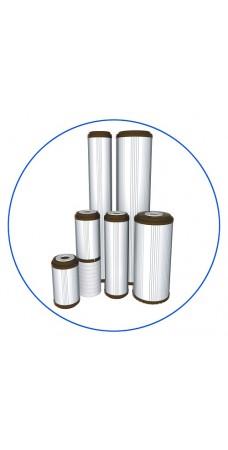 Картридж фильтра для воды Aquafilter FCCFE 10BB, 10-ти дюймовый 10 Big blue, устраняет ионы железа