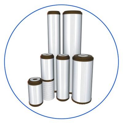 Картридж фильтра для воды Aquafilter FCCFE 20BB, 20-ти дюймовый 20 Big blue, устраняет ионы железа