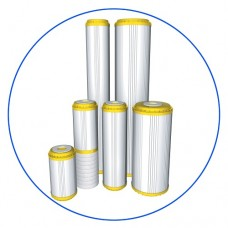 Картридж фильтра для воды Aquafilter FCCST 20BB, 20-ти дюймовый 20 Big blue, устраняет ионы кальция и магния, умягчение