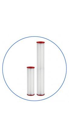 Картридж фильтра для горячей воды Aquafilter FCHOT 3, 10-ти дюймовый, 5 мкм, гофрированный полиэстер