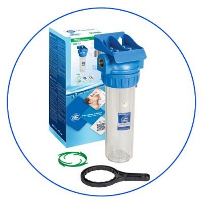 Корпус фильтра для воды Aquafilter FHPR 12-3, Магистральный, 10-ти дюймовый, резьба 1/2 дюйма