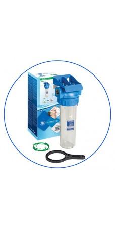 Корпус фильтра для воды Aquafilter FHPR 34-3, Магистральный, 10-ти дюймовый, резьба 3/4 дюйма