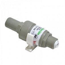 Редуктор давления Kaplya FPV 0104 40 для обратного осмоса, фильтра для воды, с обратным клапаном, 1/4 цанга, 2,8 атм. (40 psi), до 45° С