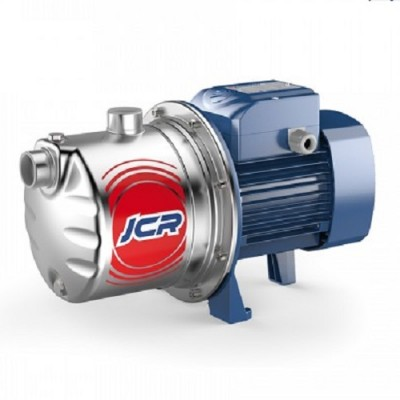 Насос Pedrollo JCRm 2C поверхностный самовсасывающий, рабочее колесо из нержавейки, корпус из нержавейки, 0,75 кВт, глубина всасывания до 9 м, напор до 50 м, до 4,2 куб.м/час