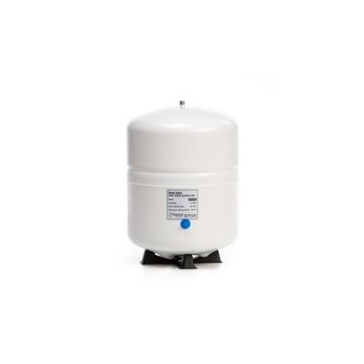 Бак Kaplya SPT 45 W, Резервуар металлический для обратного осмоса, фильтра с основанием, 12 литров, белый