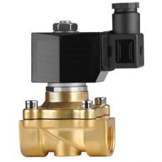 Клапан электромагнитный Klod (KLQD) 2W 200 20, 3/4 BB, Нормально закрытый соленоидный клапан, 3/4″, 220 В, 10 атм., 80°С