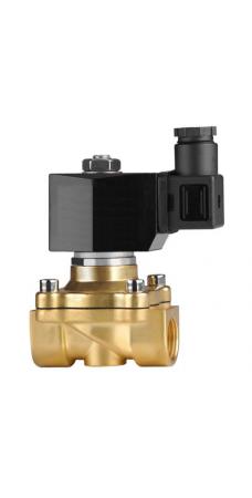 Клапан электромагнитный Klod (KLQD) 2W 160 15, 1/2 BB, Нормально закрытый соленоидный клапан 1/2″, 220 В, 10 атм., 80°С