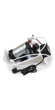 Насос в сборе для обратного осмоса Kaplya P 6010 S, комплект для повышения давления на кронштейне, 1,8 л/мин, 100 psi, 220/36В, 1,5А