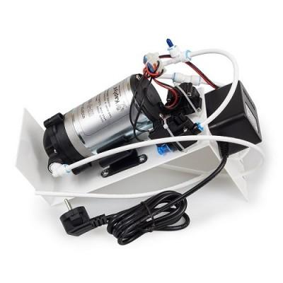 Насос в сборе для обратного осмоса Kaplya P 6005 S, комплект для повышения давления на кронштейне, 1,2 л/мин., 100 psi, 220/24В, 1,2А