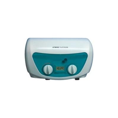 Водонагреватель проточный электрический Atmor Platinum Completa Digital (7 кВт), 220 В, стабилизирующий клапан, душевая стойка