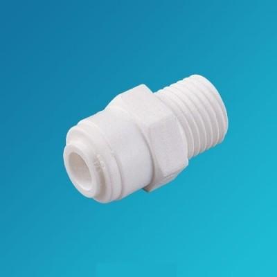 Фитинг прямой Organic MC 0404, коннектор (муфта) 1/4 цанга – 1/4 наружная резьба