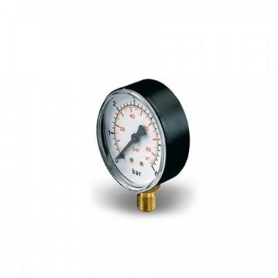 Манометр Pedrollo MR 6, контроллер давления, до 6 атм., 1/4″ радиальное соединение