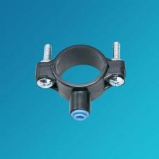 Хомут дренажный Organic CU 138, для обратного осмоса, фильтра, 3/8 цанга