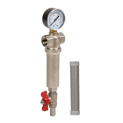 Фильтр для воды Aquafilter FHMB 34, Магистральный, самоочистительный, резьба 3/4 дюйма