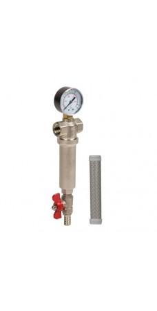 Фильтр для воды Aquafilter FHMB 1, Магистральный, самоочистительный, резьба 1 дюйм