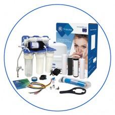 Фильтр для воды Aquafilter RP 55145616, Под мойку, 5-ти ступенчатая система обратного осмоса c насосом