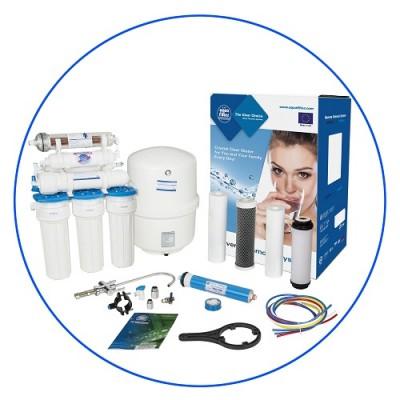 Фильтр для воды Aquafilter RX 75155516, Под мойку, 7-ми ступенчатая система обратного осмоса