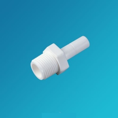 Фитинг прямой Organic SA 0404, коннектор (штуцер) 1/4 вставка – 1/4 наружная резьба