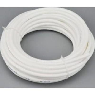 Трубка соединительная Installine PVC, Шланг гибкий ПВХ 1/4, белый, для настольных фильтров, длина 0,8 метра