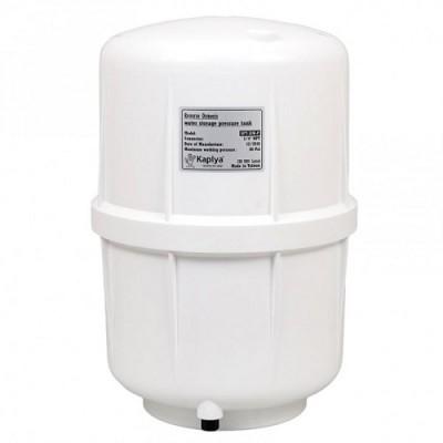 Бак Kaplya SPT 38 W P, Резервуар пластиковый для обратного осмоса, фильтра с основанием, 12 литров, белый