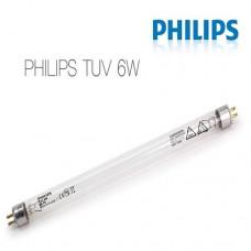 Ультрафиолетовая лампа Philips TUV 6W, УФ лампа для бытового осмоса, фильтра, ресурс 10000 часов