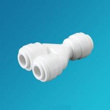 Фитинг тройник Organic TWD 0404, Разделитель потока, коннектор 1/4 цанга