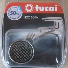 Аэратор для смесителей Tucai 201999, экономия 50 % воды, резьба Н22 внутренняя
