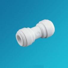 Фитинг прямой Organic UC 0404, Коннектор муфта 1/4 цанга – 1/4 цанга