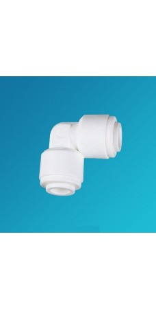 Фитинг угловой Organic UE 0606, коннектор колено 3/8 цанга – 3/8 цанга