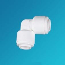 Фитинг угловой Organic UE 0404, коннектор колено 1/4 цанга – 1/4 цанга