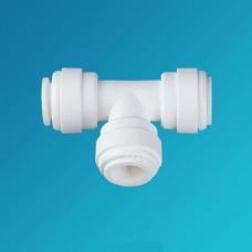 Фитинг тройник Organic UT 0406, коннектор 3/8 цанга – 1/4 цанга – 3/8 цанга