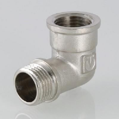 Уголок переходной Valtec 1 HB, фитинг резьбовой угольник с переходом на наружную резьбу, колено, 1 дюйм, резьба наружная и внутренняя
