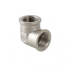 Уголок Valtec 1/2 BB, фитинг резьбовой угольник колено, 1/2 дюйма, резьба внутренняя