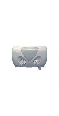Водонагреватель проточный электрический Atmor Optima (5 кВт), 220 В, стабилизирующий клапан, душевая стойка