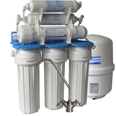 Фильтр для воды Aquafilter RO 200 L, Под мойку, система обратного осмоса, 20-ти дюймовые картриджи