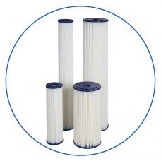 Картридж фильтра для воды Aquafilter FCCEL 20, 10-ти дюймовый, 20 мкм, гофрированный полиэстер