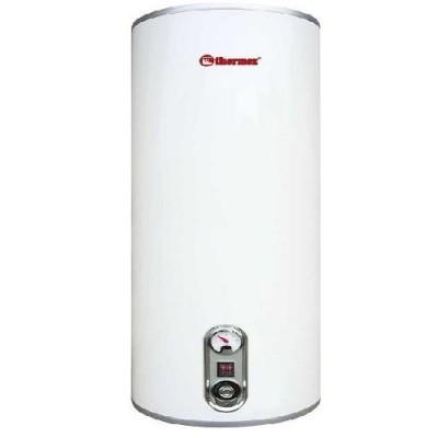 Накопительный водонагреватель Thermex IR 80 V, 80 л., 1,3/2 кВт., нержавейка, серебряный ТЭН, 25-750С, 6 атм., вертикальный