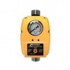 Реле давления Optima PC 59 N, с защитой от сухого хода для автоматических станций водоснабжения, автоматический перезапуск, манометр