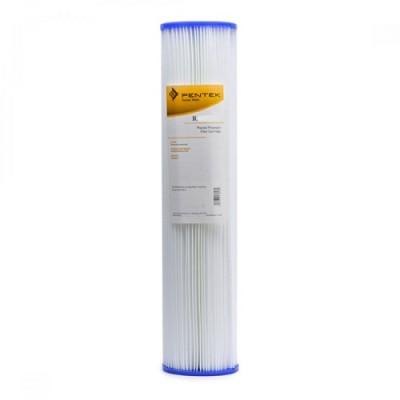 Картридж фильтра для воды Pentek R 30 20, 20-ти дюймовый, 30 мкм, гофрированный полиэстер