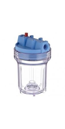 Корпус фильтра для воды Pentek Slim Clear 1/2 #5, Магистральный, 5-ти дюймовый, резьба 1/2 дюйма