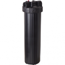 Корпус фильтра для горячей воды Pentek Standart Black 3/4″ #10, Магистральный, 10-ти дюймовый, резьба 3/4 дюйма