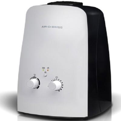 """Увлажнитель воздуха Boneco U-600, До 60 м², 40 Вт, ультразвуковой, холодный+теплый пар, гигростат, обеззараживание воды, """"золотая"""" мембрана"""""""