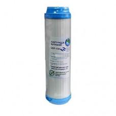 Картридж фильтра для воды Bio+ Systems UDF 10A, 10-ти дюймовый, гранулированный активированный уголь, 10 мкм