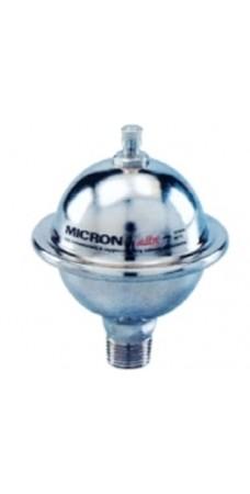 Расширительный бак Elbi Micron, мебранный амортизатор защита гидроудара  в системах водоснабжения, 1/2″, объем – 0,16 литра, до 99°С