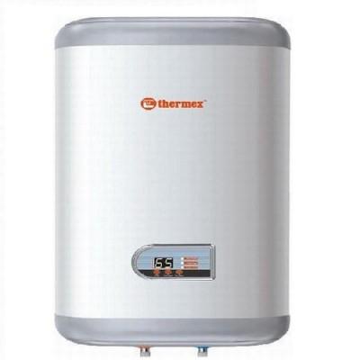Накопительный водонагреватель Thermex IF 50 V, 50 л., 1,3/2 кВт., нержавейка, серебряный ТЭН, 25-750С, 6 атм., вертикальный