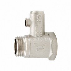 Предохранительный клапан для бойлеров Itap 366, подключение 1/2″ дюйма, резьба наружная-внутренняя
